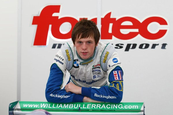 Announcing the entry of new Irish race driver William Buller in the international rounds of the 2009 Toyota Racing Series